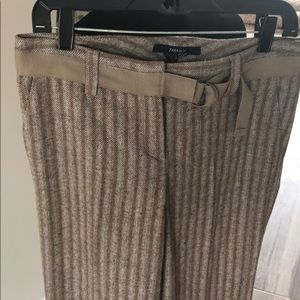 Zara pants size 6 worn once!